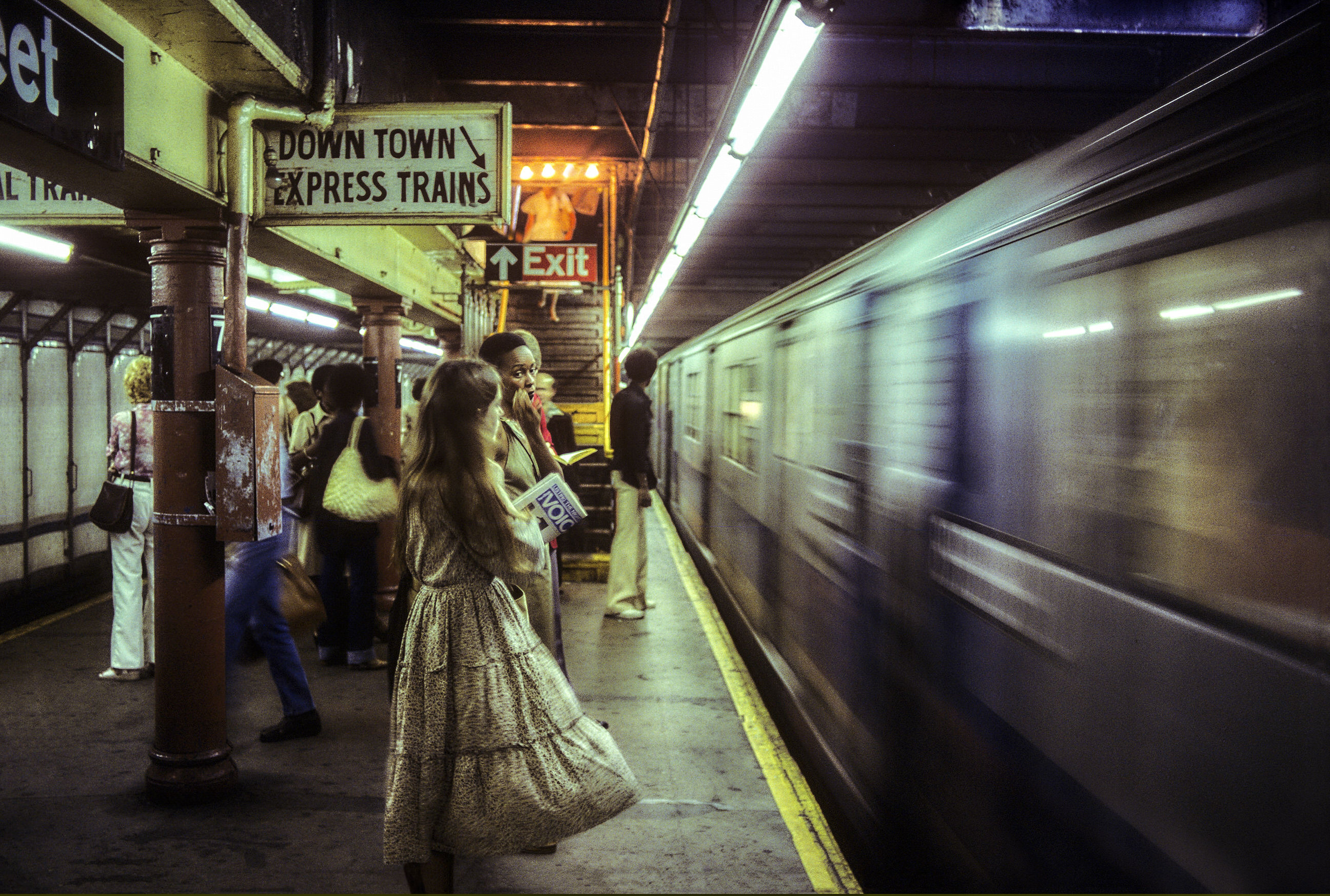 Hell on Wheels, Subway New York, 1977-1984 ©by Willy Spiller