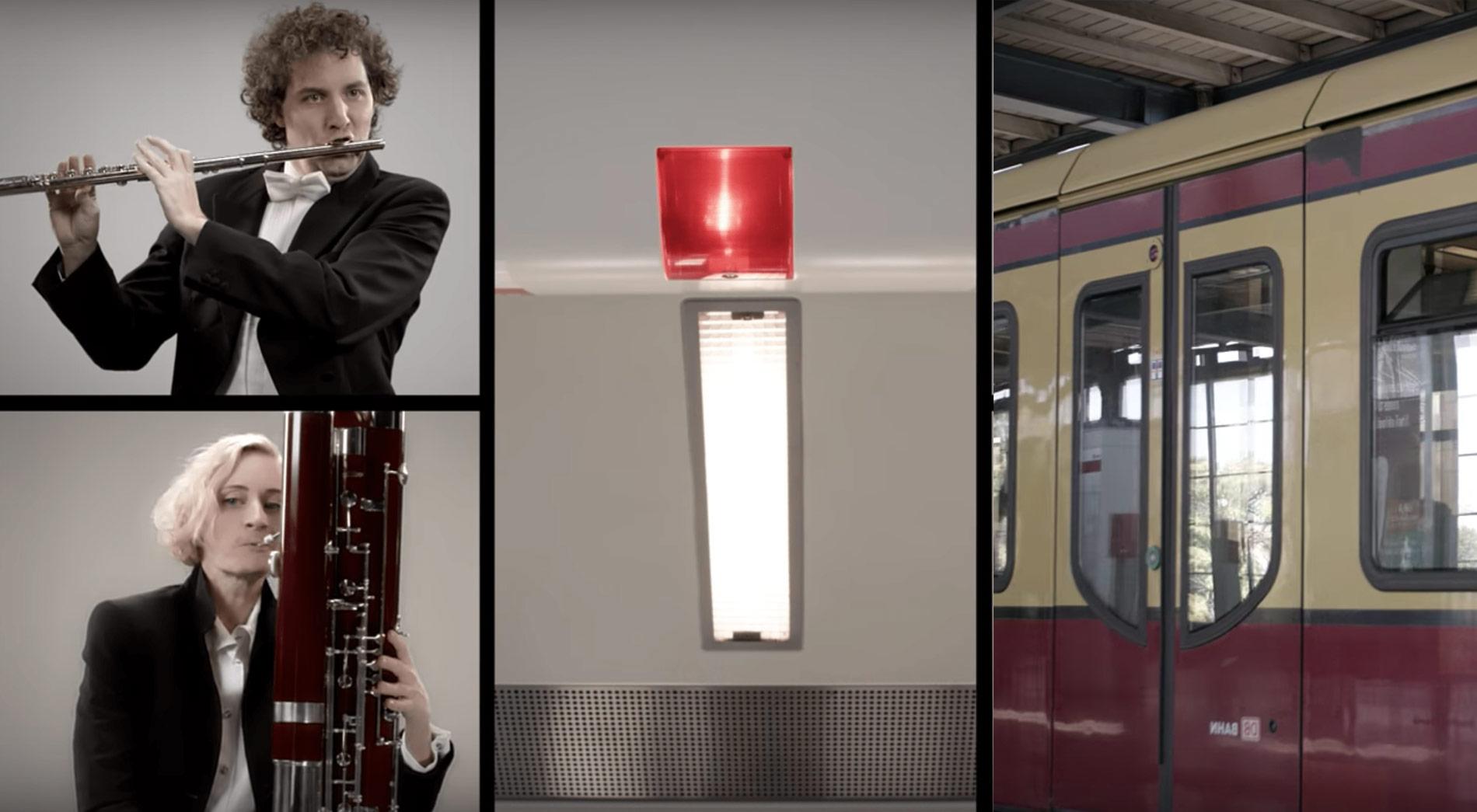 Die Typischen Gerusche Der Berliner S Und U Bahn Von Klassik Musikern Vertont