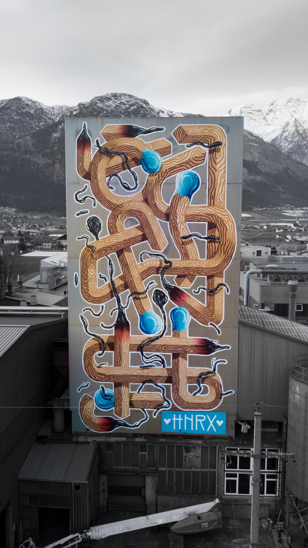 HNRX Mural Innsbruck