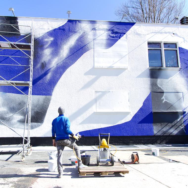 Kid Cash Mural