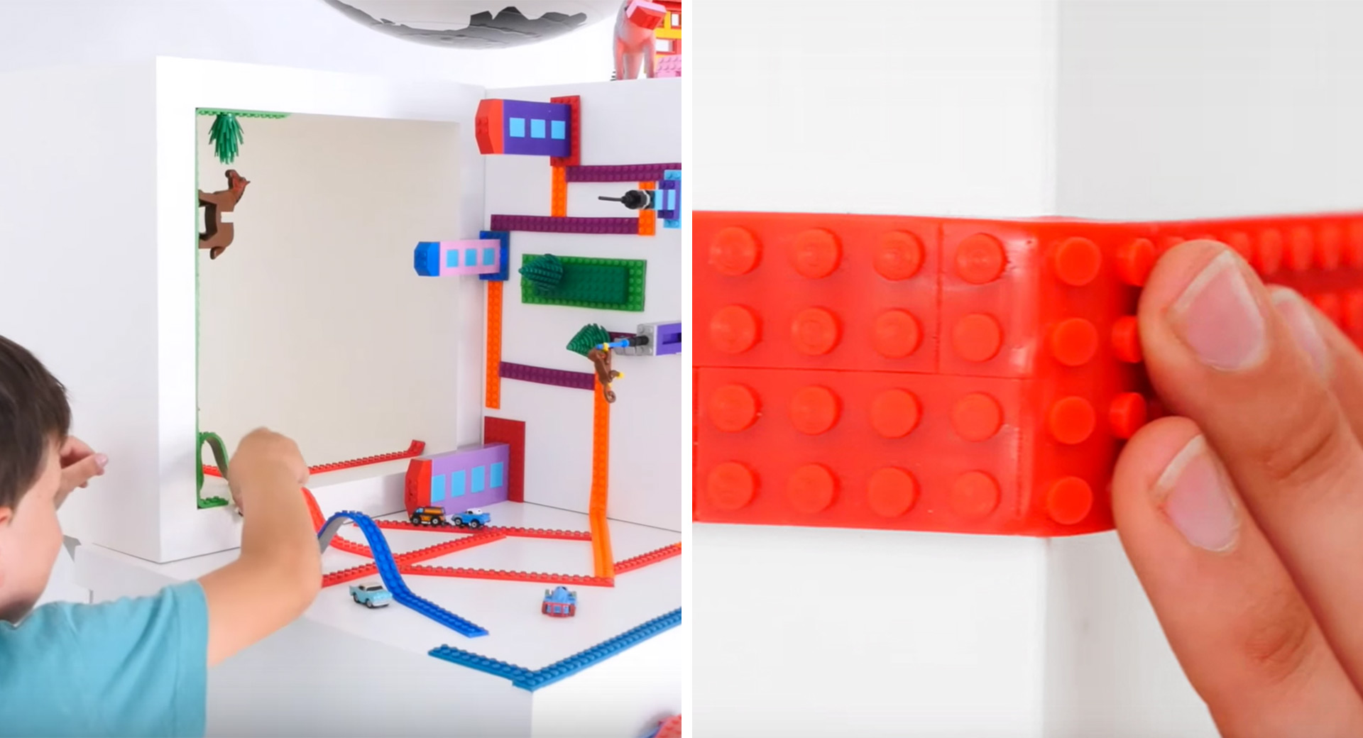 Nimuno Loops Lego Tape Macht Jegliche Oberflächen Mit Lego Bebaubar