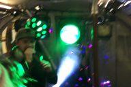 Drum & Bass Rave in der Londoner U-Bahn