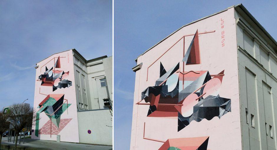"Low Bros ""Home Port"" Mural Hamburg – Walls Can Dance"