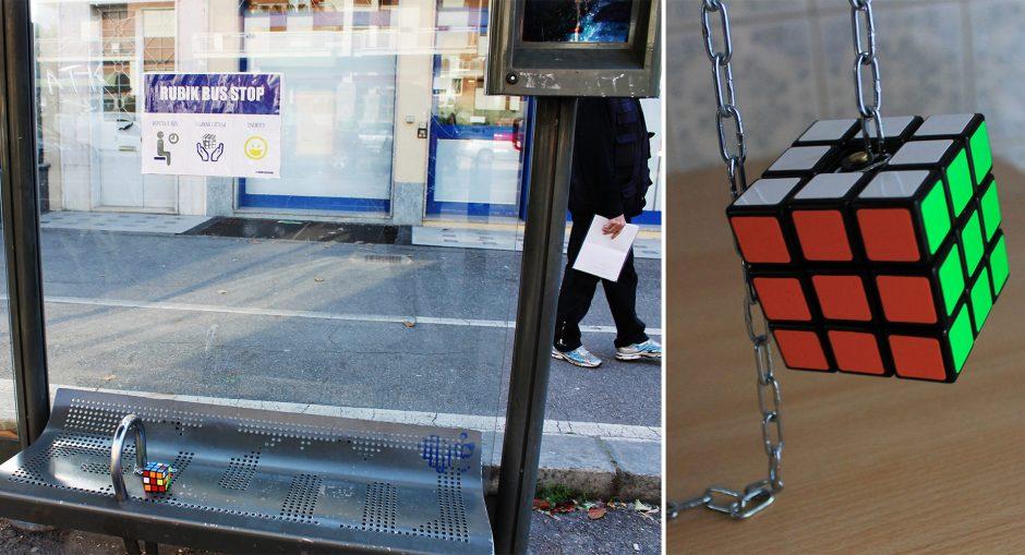 Rubik-Bus-stop