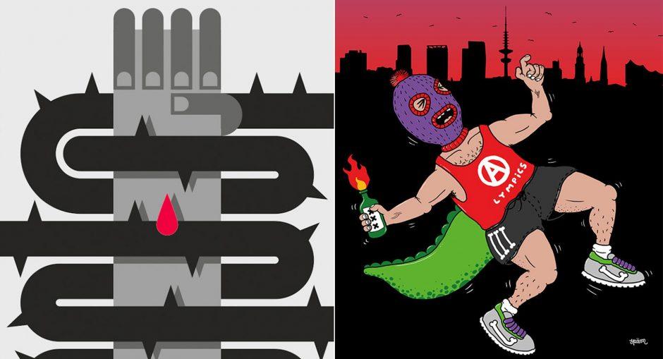 anti-g20-plakate