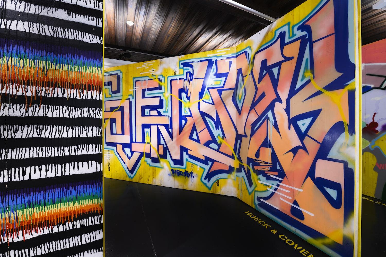 """Graffiti & Bananas. Die Kunst der Straße"", Nordico Stadtmuseum Linz, 2020, Foto: Norbert Artner"
